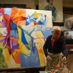 """Mostra personale di Piero Cicoli – """"Il Blu"""" dal 15 agosto dalle ore 14.00 sino a 1 settembre presso la Location Camponovo"""