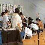 Saggio di fine anno scolastico della Scuola secondaria di primo grado Gemonio (VA).