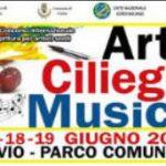 20° Arte, Ciliegie e Musica-Cuvio, parco comunale 17-18-19 giugno