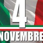 Commemorazione 4 novembre