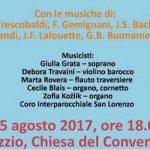 Azzio Chiesa del Convento 15 agosto 2017 ore 18.00  Concerto