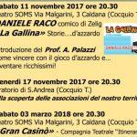 Cocquio Trevisago – Calendario eventi bando contro la ludopatia