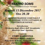 Concerto di Natale presso il Teatro Soms di Caldana