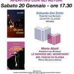 """Biblioteca comunale """"E. Gallico"""" di Cocquio sabato 20 gennaio alle ore 17.30."""