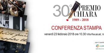 Venerdì 23 febbraio p.v. 10.30  Villa Recalcati di Varese conferenza stampa – Premio Chiara 2018