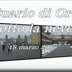 Santuario di Oropa sotto la neve- video di Giuseppe Segala