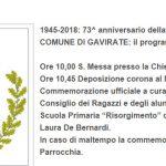"""Scuola primaria """"Risorgimento"""" – Contributo alla cerimonia del 25 aprile"""