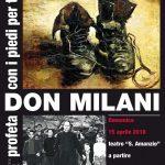 """L'incontro """"Don Milani, profeta con i piedi per terra"""",nel cineteatro """"S. Amanzio"""" di Travedona"""