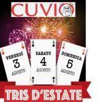 """Cuvio – Venerdì 3 – Sabato 4 – Domenica 5 Agosto: 61° edizione di""""Tris d'estate"""""""