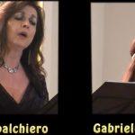 Mezzosoprano Tiziana Sbalchiero del Gruppo Calliope