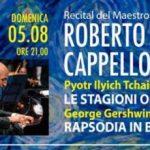 Grandi concertisti famosi nel mondo proprio a Caldana – Si inizia domani con Roberto Cappello