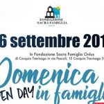 Cocquio Trevisago – Istituto Sacra Famiglia -Domenica 16 settembre  Domenica…in famiglia