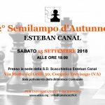 Cocquio Trevisago – Sabato 15 settembre 2018 ore 15.00  2° Semilampo d'autunno