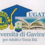 Gavirate-Ugate (Università di Gavirate per adulti e terza età) – Anno accademico 2018/19