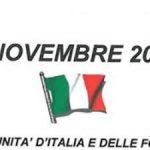 Orino – Azzio  4 novembre  – Festa dell'unità d'Italia e delle forze armate