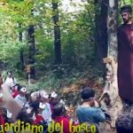 Spettacolo lungo il sentiero delle sculture a Cerro di Cocquio Trevisago – Video