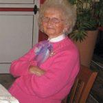 E' mancata all'affetto dei suoi cari  a Caldana la signora  Maria Andreoli Palazzi