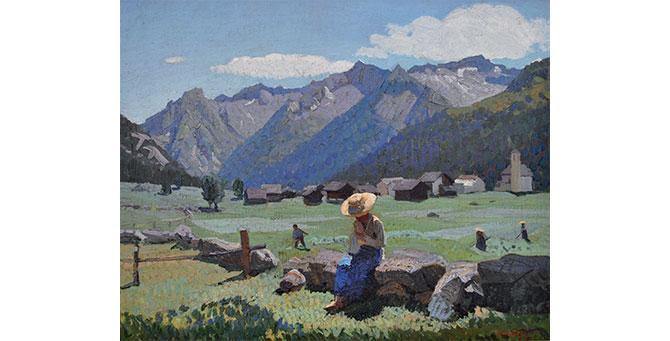 Oreste Albertini, Meriggio a Pecetto, 1931
