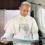 Gemonio – Il sindaco Samuel Lucchini domenica 14 ottobre nella piazza di san Pietro alla messa di canonizzazione del Papa Paolo VI