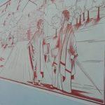 Brebbia – Il nuovo graffito, realizzato dall'artista Irene Cornacchia all'ingresso laterale del cimitero