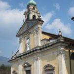Oltrona restauro chiesa – Sono iniziati i lavori di restauro della controfacciata.