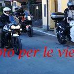Orino – 30 dicembre 2018 – Tante moto nel piccolo paese