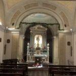 Il santuario di santa Maria Assunta situato in cima alla collina di Bregano