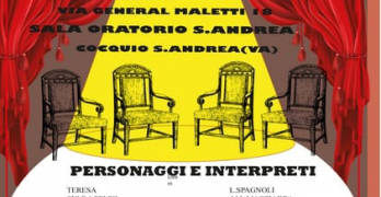 "Cocquio Trevisago –  Oratorio S. Andrea sabato 26 gennaio ore 21 ""Visita di condoglianze"""