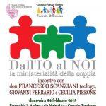 Cocquio Trevisago – Dall'Io al Noi – Domenica 24 febbraio incontro con Don Francesco Scanziani oratorio S. Andrea
