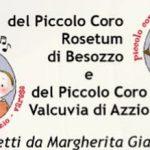 Il Piccolo Coro Rosetum di  di Besozzo  e  il Piccolo Coro Valcuvia di Azzio al Carnevale Bosino 2019