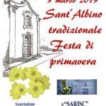 3 marzo 2019  Sant'Albino tradizionale  Festa di primavera
