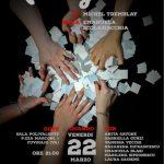 Venerdì 22 marzo ore 21.00 sala Polivalente Cuveglio