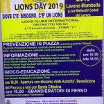 A Laveno Mombello domenica 7 aprile dalle  10.30 alle 18.00 Lions day 2019
