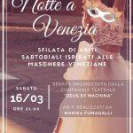 Notte a Venezia – Teatro Soms  16 marzo 2019  ore 21