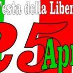 25 aprile 2019 Anniversario della Liberazione