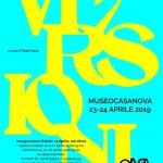Antonio e Matteo Pizzolante dal 13 al 28 Aprile 2019 al MuseoCasanova Laveno Mombello