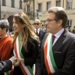 Il presidente della repubblica Mattarella alla Cerimonia in occasione del 74° Anniversario della Liberazione