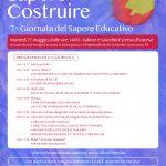 Settima giornata del sapere educativo: insegnare a sperare – martedì 21 maggio 2019 a Varese