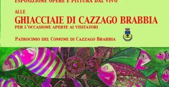 Domenica 21 luglio 2019 alle Ghiacciaie di Cazzago Brabbia