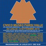La collettiva TUTTOTONDO si inaugura sabato 20 luglio alle ore 18 nella prestigiosa cornice del Museo di Maccagno.