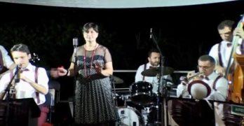 TnB Swing Band in concerto lungo il  lago Travedona Monate