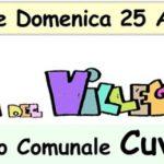 """Cuvio – Sabato 24 e Domenica 25 Agosto 2019 – """"Festa del Villeggiante"""""""