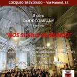 Nos Sumus In Mundo –  Venerdì 18 ottobre  20.30 presso la Chiesa Parrocchiale  di S. Andrea di Cocquio Trevisago