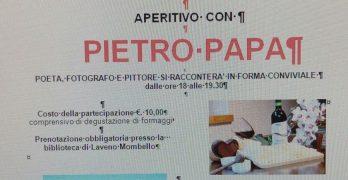 """Aperitivo con l'autore – Pietro Papa presso azienda agricola """"Capre e cavoli"""" Vararo"""