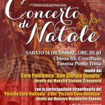 Sabato 14 dicembre 2019 alle ore 20.30 a Lavena Ponte Tresa per il concerto di Natale!