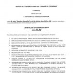 Consiglio comunale a Cocquio Trevisago- Mercoledì 27 novembre 2019 ore 21.00