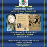 Venerdì 17 Gennaio ore 21.00 presso la sala Polivalente del comune  di Cuveglio ( piazza Marconi 1)
