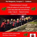 """""""Concerto di Natale"""" – Domenica 15 dicembre ore 17 presso il teatro Soms di Caldana"""