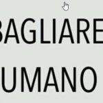 Sbagliare  di Felice Magnani
