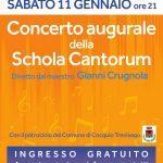 Teatro Soms Caldana sabato 11 gennaio 2020 ore 21 Concerto augurale della Schola Cantorum